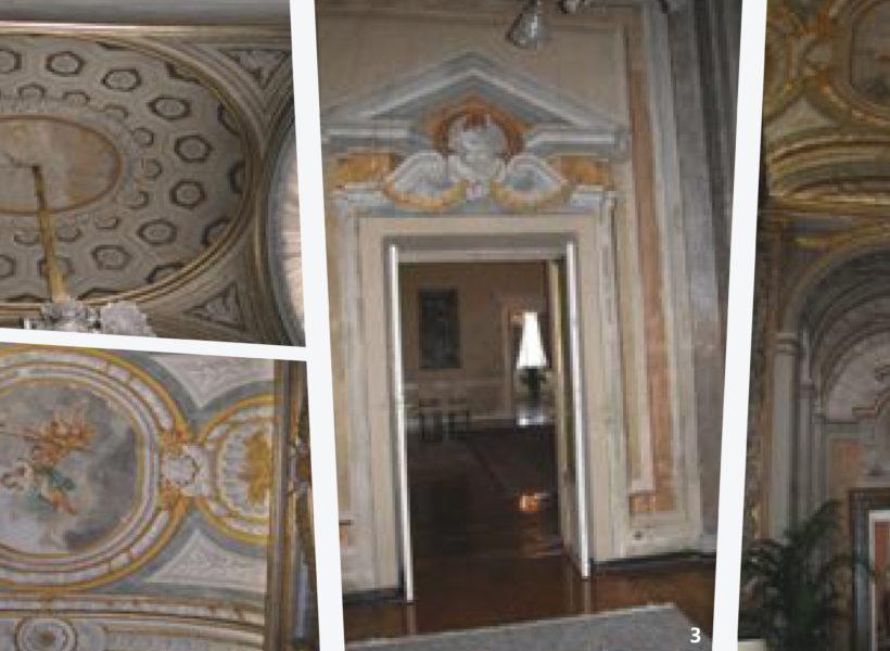 Palazzo Valentini Roma Ufficio Del Prefetto Restauro Del Soffitto E Del Pavimento Dexia